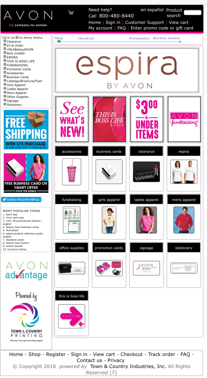 How To Get Your Free AVON Business Cards – SIGN UP TO SELL AVON ONLINE