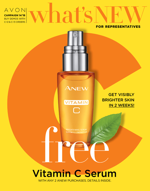 AVON CAMPAIGN 14 WHATS NEW