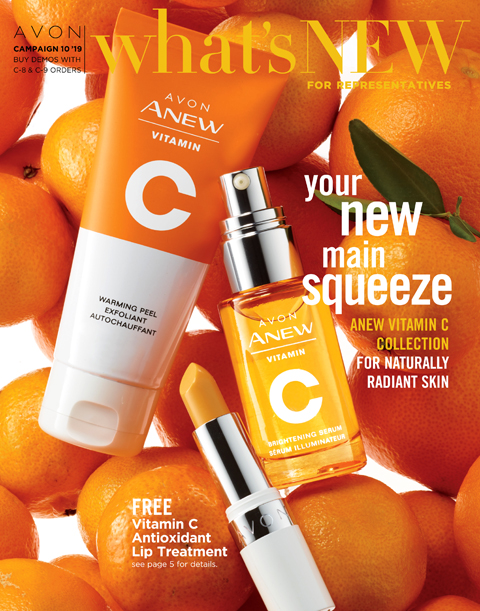AVON CAMPAIGN 10 WHATS NEW