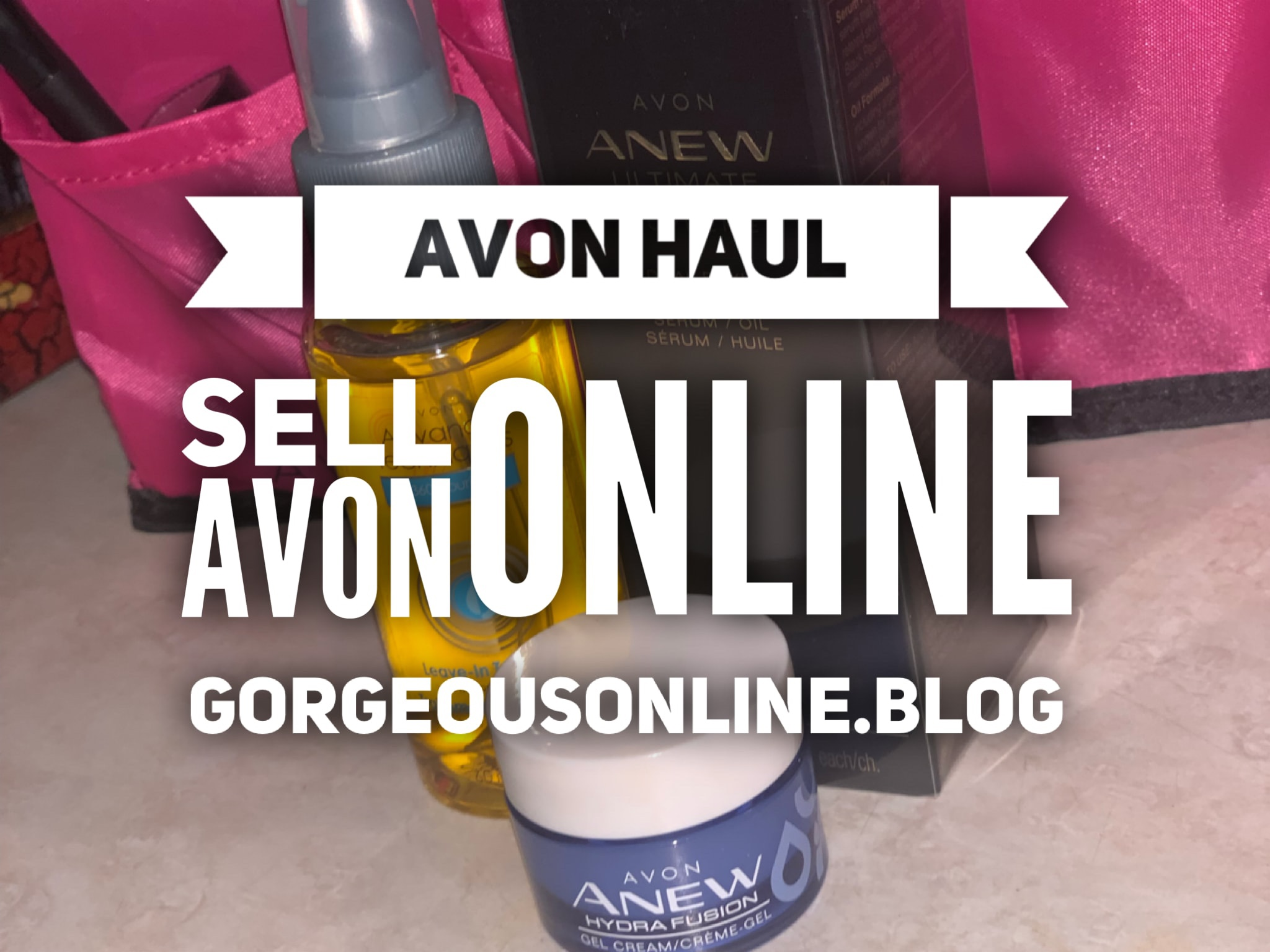 SELL AVON ONLINE ONLY – APRIL HAUL